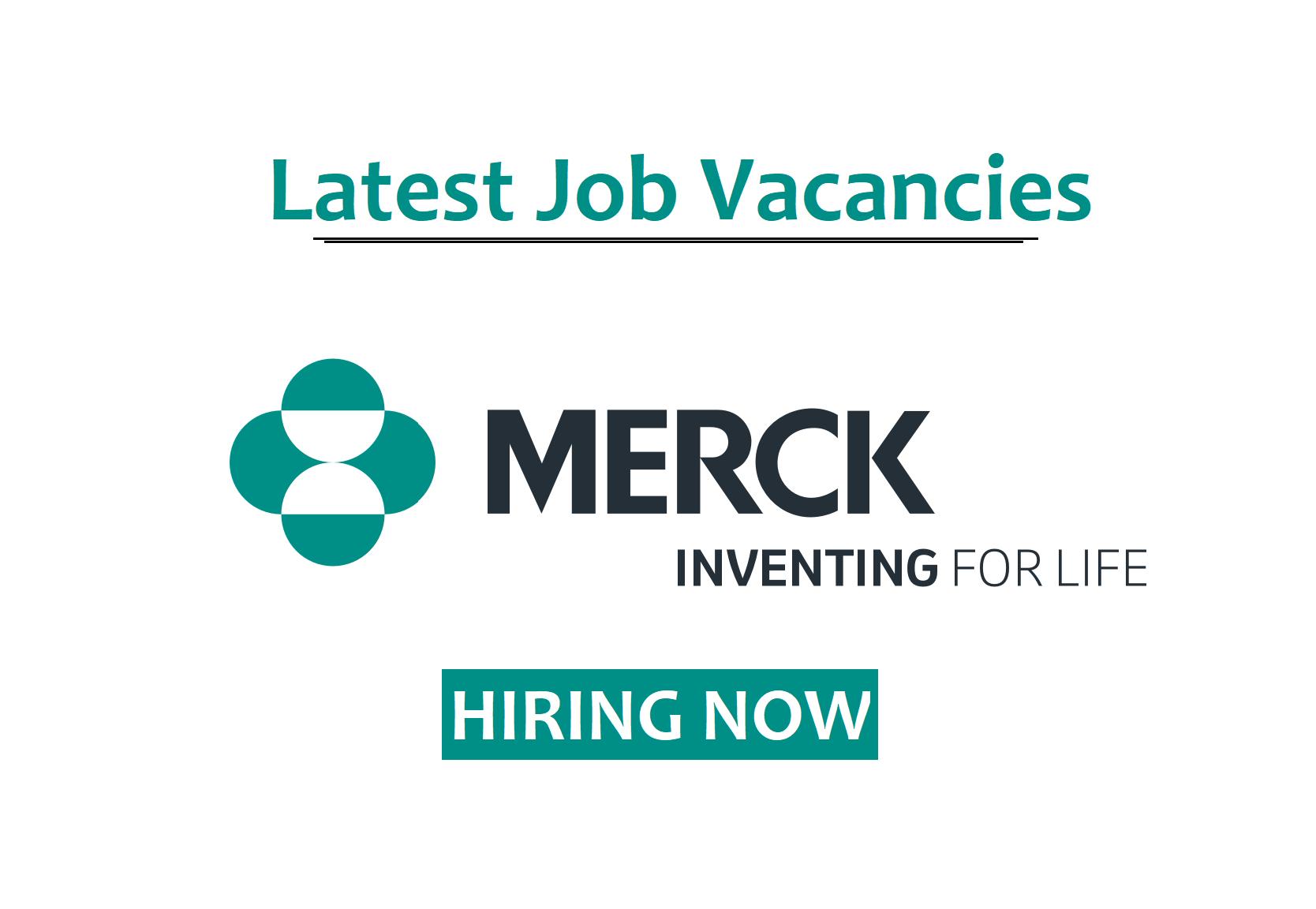 Job Vacancies At Merck Merck Job Merck Co