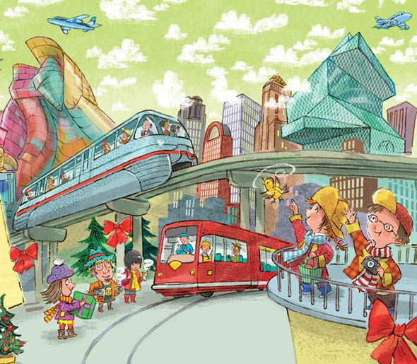 Busy Busy City With Images Kids Poster Children S Book