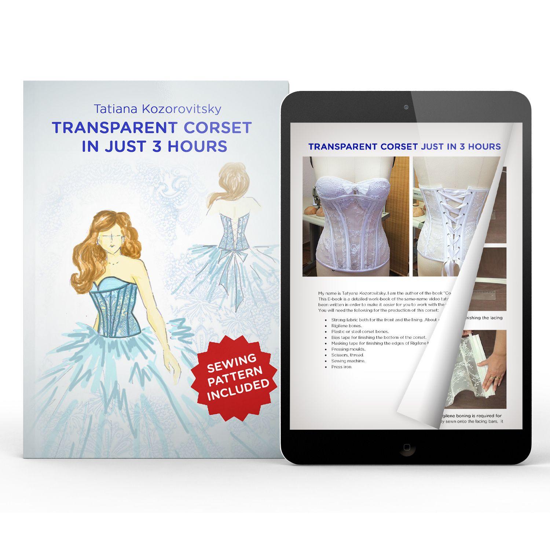 Free ebook sewing pattern download sewing transparent corset in free ebook sewing pattern download sewing transparent corset in just 3 hours jeuxipadfo Gallery