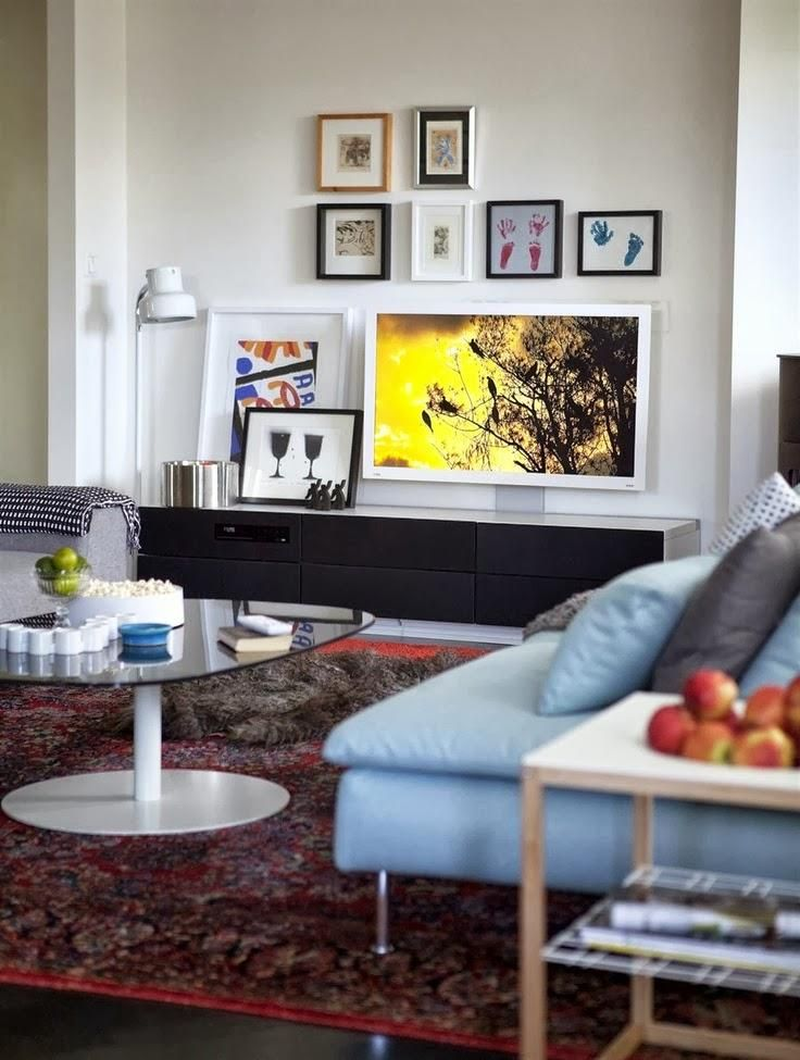 El mueble de la tele decorar la sala de estar sala de - Muebles para salas de estar ...