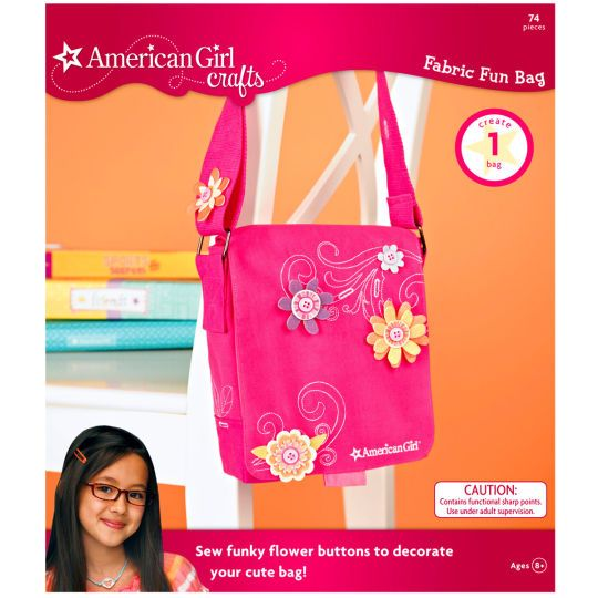 <div><div>Encourage your little girl to create her own designer bag with this fun kit. She can&n...