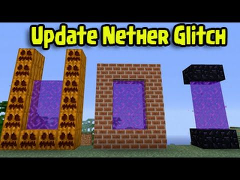 Minecraft Xbox, Wii U - Custom Nether Portal Glitch Title Update)