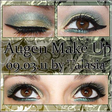 Eye Make Up - Datum: 09.03.11  http://talasia.blogspot.de/2011/03/amu-kiko-dark-pearly-pistachio-emerald.html
