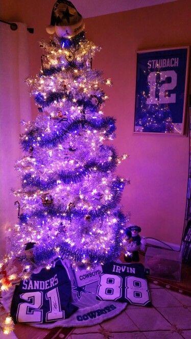 Dallas Cowboys Christmas tree | Dallas cowboys christmas ...
