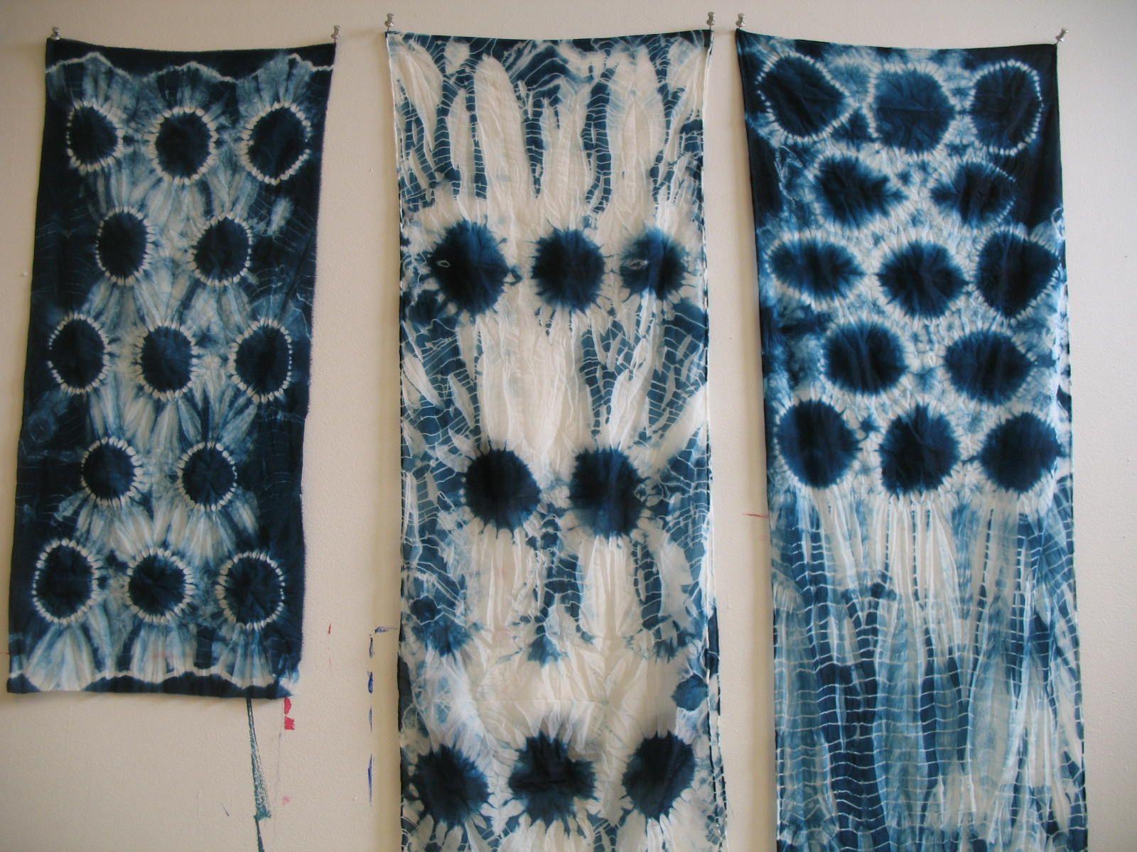 Japanese Shibori Dyeing Art Pinterest Shibori