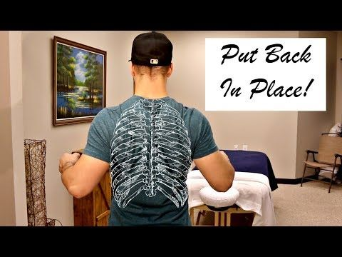 61 Rib Out How To Pop Back In Place Yourself Youtube How To