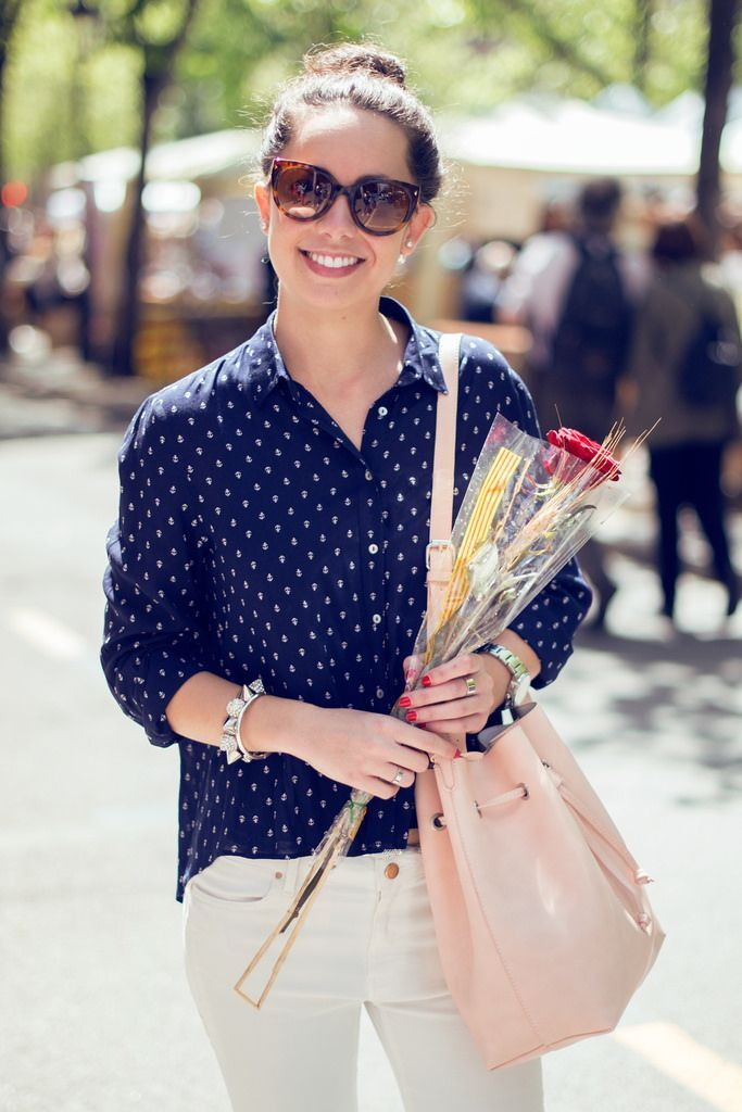 How to mix a printed shirt in your spring outfit : MartaBarcelonaStyle's Blog