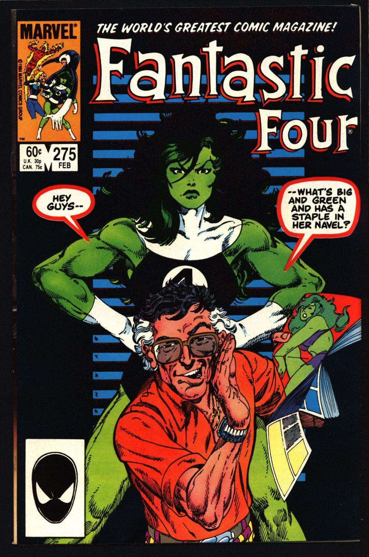 John persons comics for sale - Fantastic Four 4 275 John Byrne She Hulk Wyatt Wingfoot The