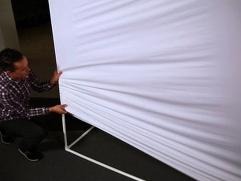 CNET How To - Make a giant projection screen (With images ...