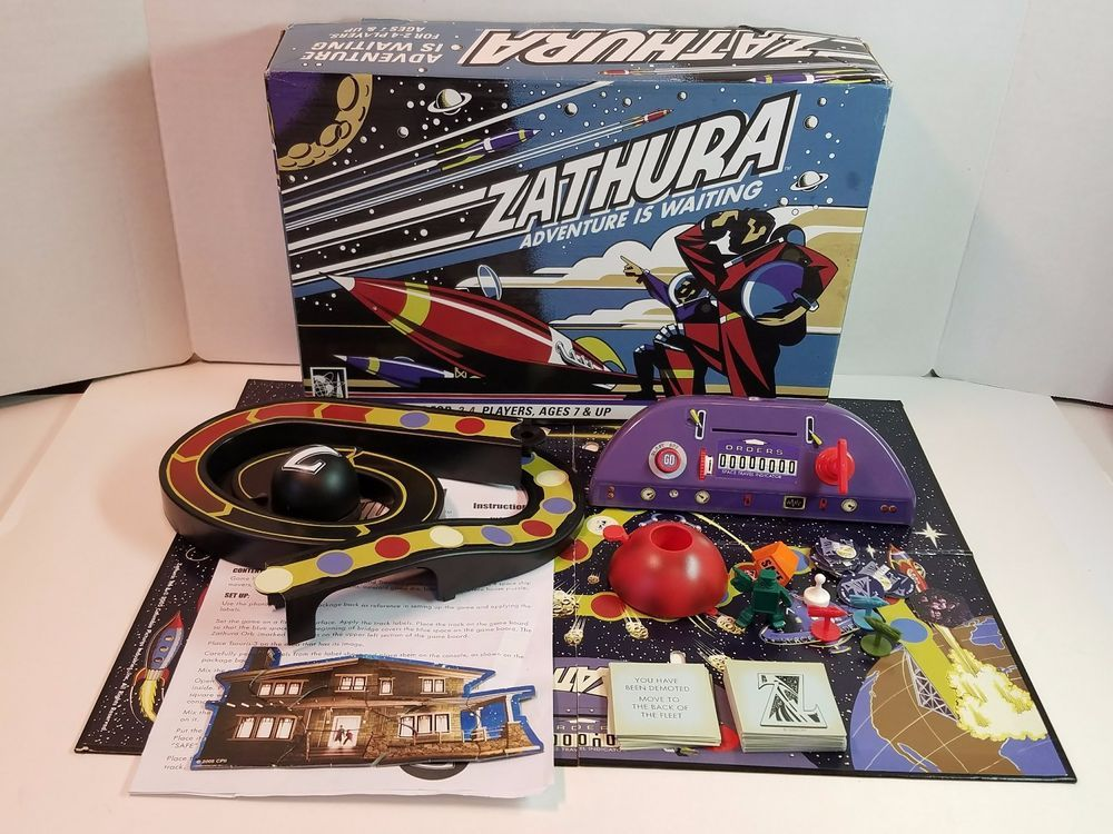 2005 Zathura Board Game Space Robot Movie Complete