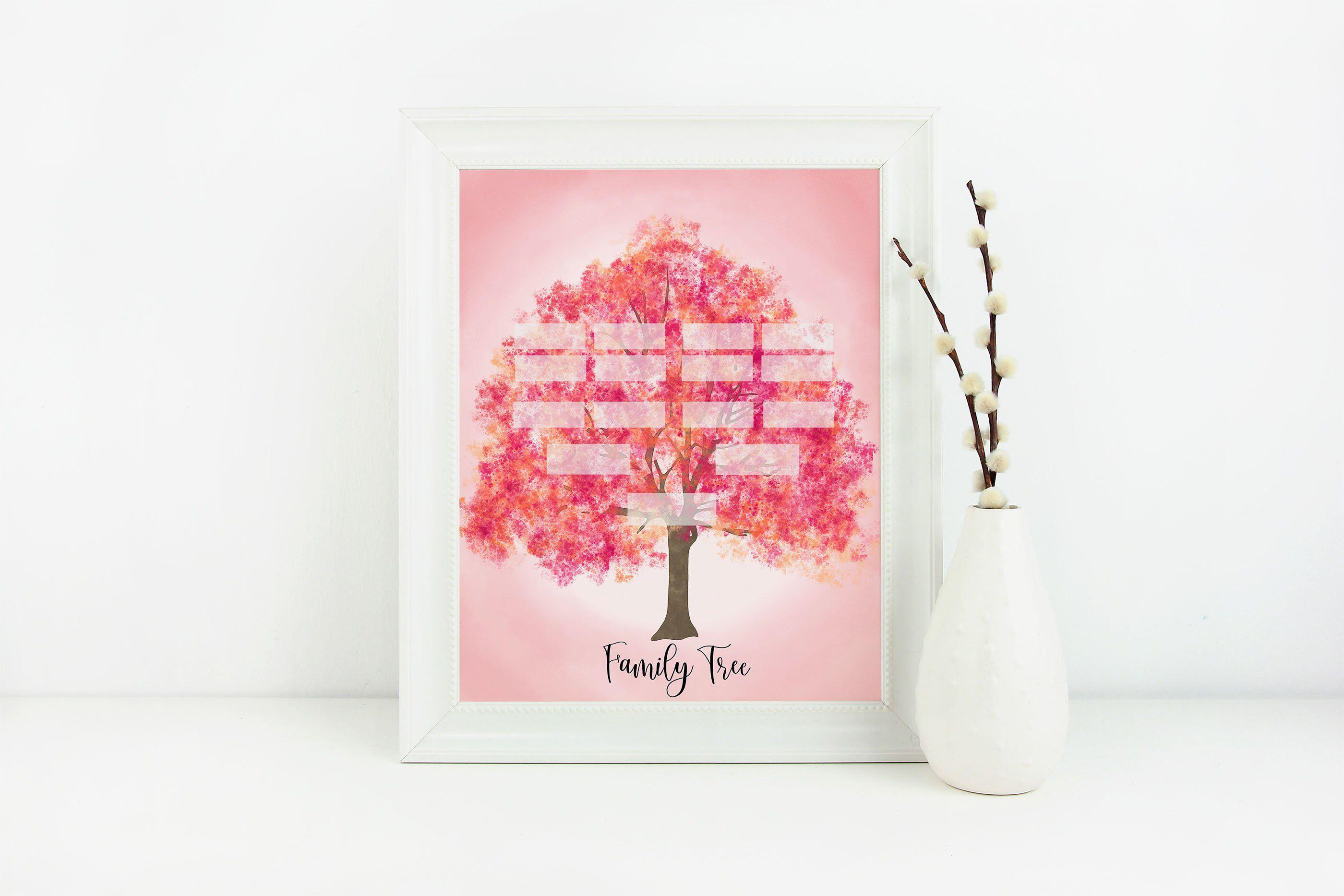 Peach Family Tree Family Tree Genealogy Family Tree Art