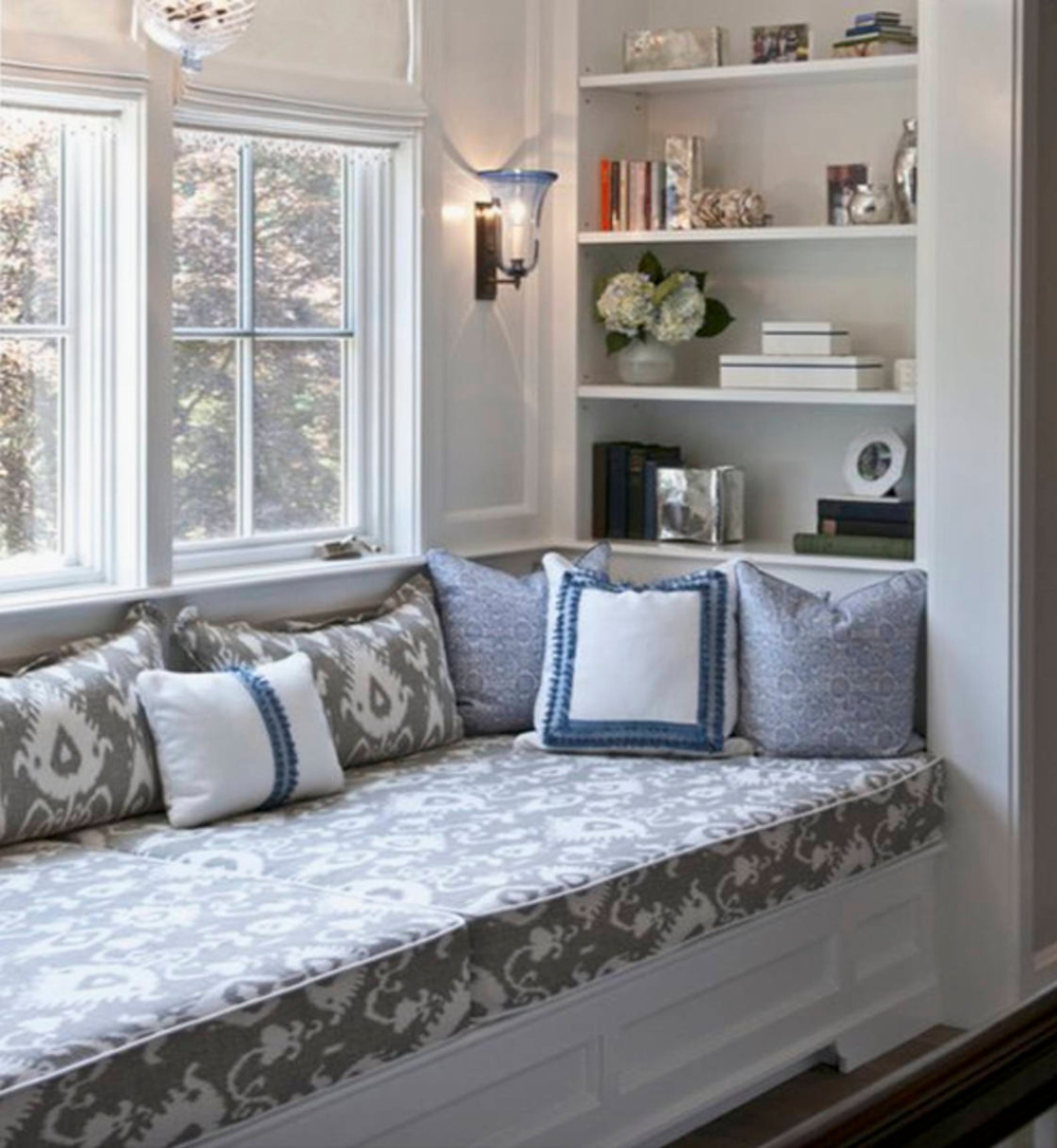 Window Seat Cover Bench Cushion Cover Custom Size Bench Cover Window Cushion Cover Piping Any Fabric Window Bench Cushion Cover Long Wide Bedroom Seating Area Window Seat Design Bedroom Seating