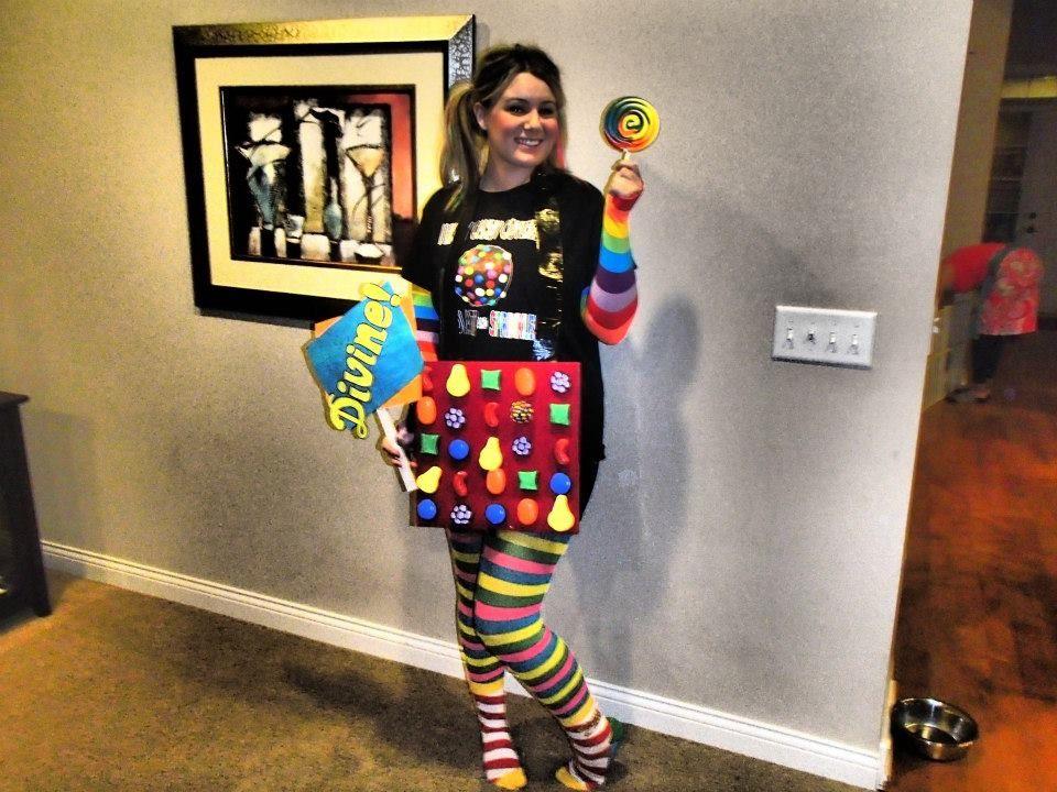 DIY CANDY CRUSH COSTUME - interactive halloween costume ...
