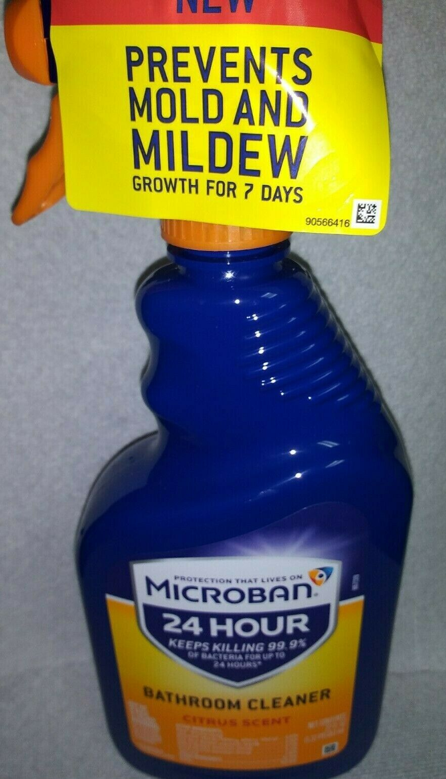 Microban 24 Hour Citrus Scent Hospital Strength Bathroom Cleaner Ebay In 2020 Bathroom Cleaner Citrus Scent Cleaners