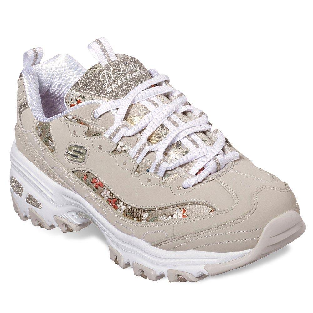 sinsonte Continuamente Oferta  Skechers D'Lites Floral Days Women's Sneakers | Skechers shoes women, Womens  sneakers, Beautiful sneakers