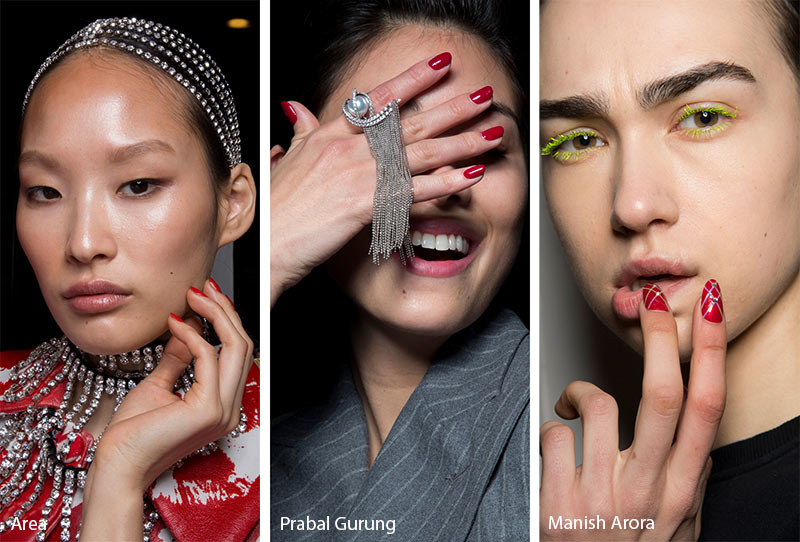 Fall 2020 Nail Color Trends.Fall Winter 2019 2020 Nail Trends Manicures Fall Nail