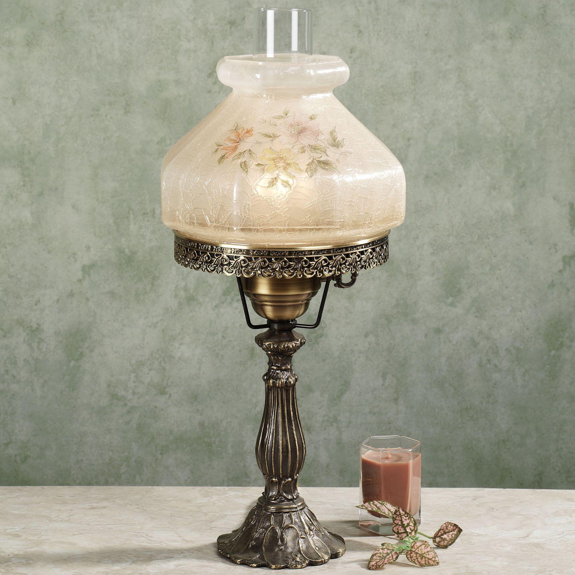 High Quality Lilypad Hurricane Table Lamp