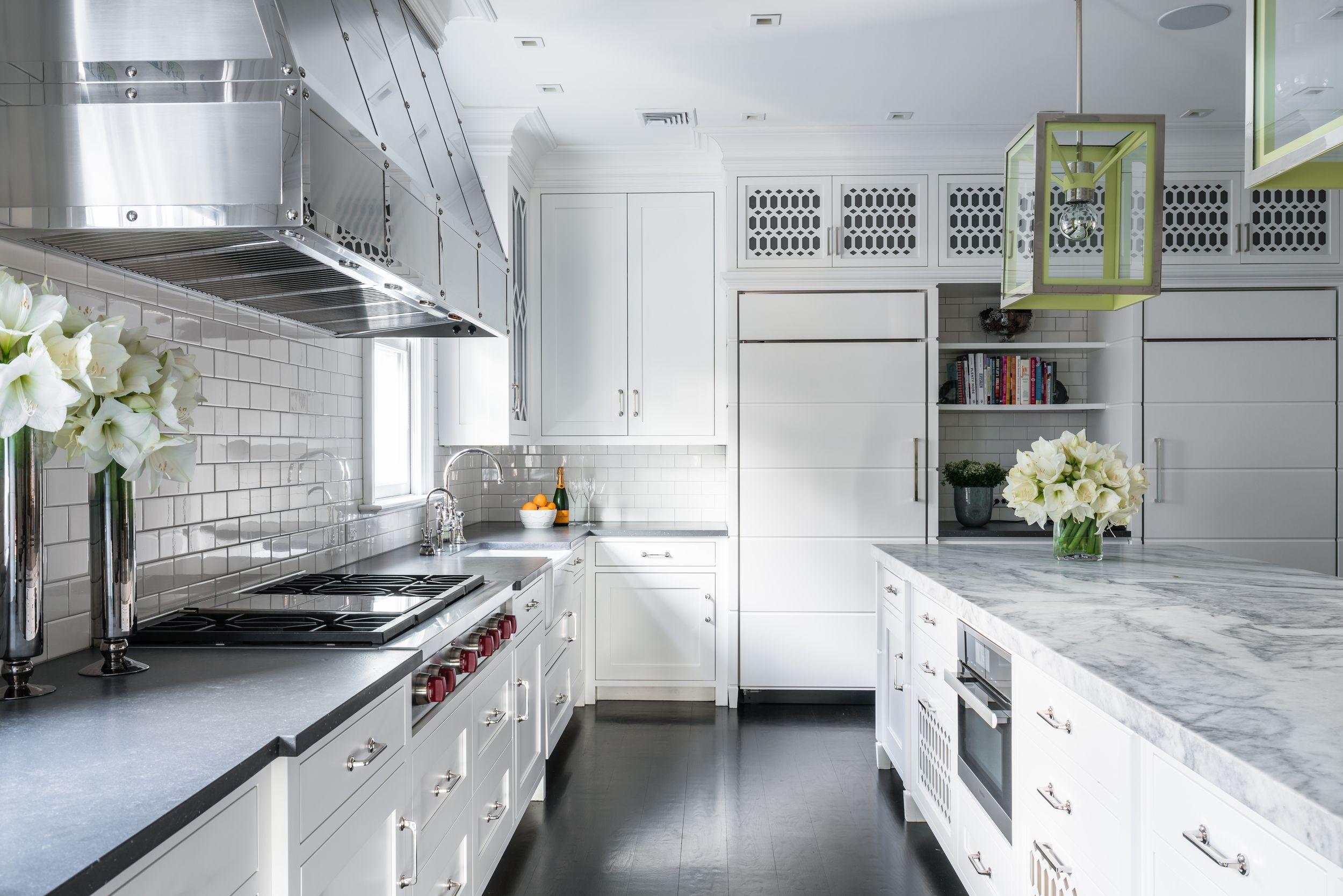 Countertops Mismatched Interior Design Kitchen White Kitchen Backsplash Kitchen Inspiration Design
