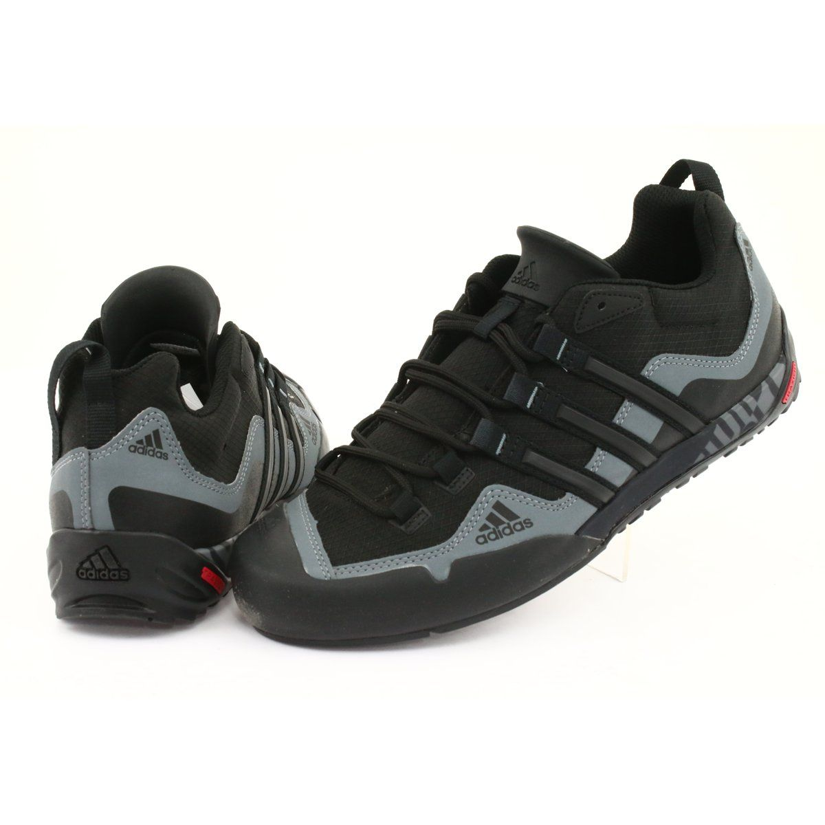 Buty Adidas Terrex Swift Solo M D67031 Czarne Szare Sports Shoes Adidas Adidas Black Shoes