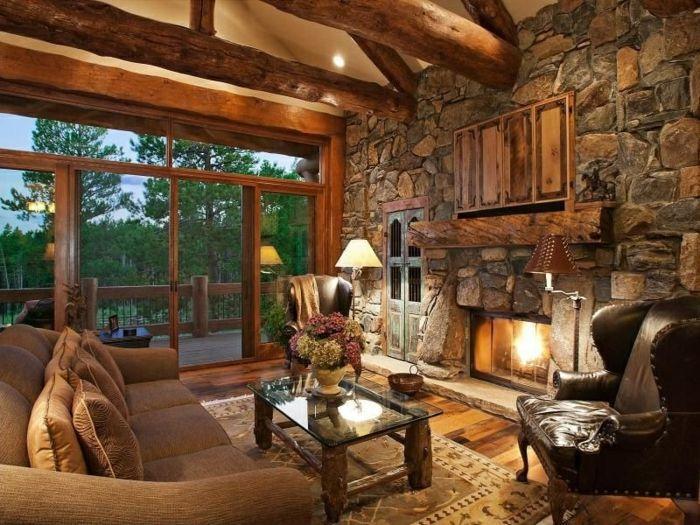 steinwand wohnzimmer 43 beispiele wie steine auf das ambiente wirken ofen pinterest. Black Bedroom Furniture Sets. Home Design Ideas