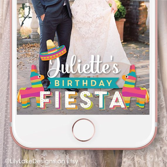Personalized Bachelorette Party Fiesta Snapchat Geofilter - copy blueprint events snapchat