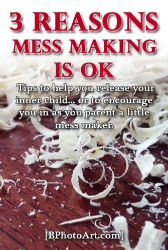 3 Reasons Mess Making is Ok. Tips to help you release your inner child... or to encourage you in as you parent a little mess maker. - Betsy's Photography
