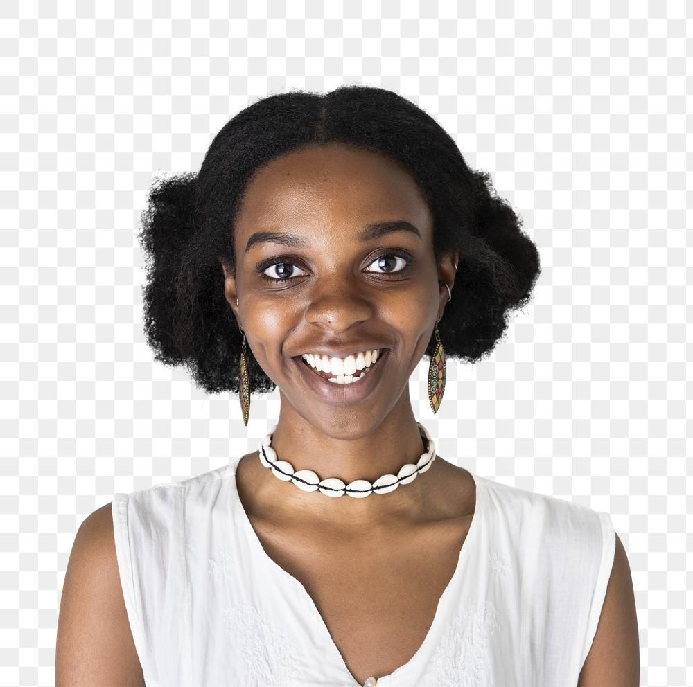 Download Premium Png Of Cheerful African American Girl Transparent Png African American Girl African Models Girl