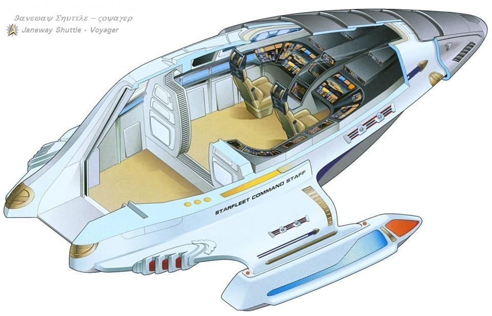 Admiral Janeway's Shuttle