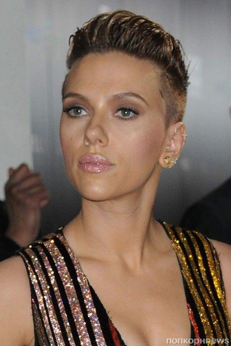 Женская стрижка с выбритым