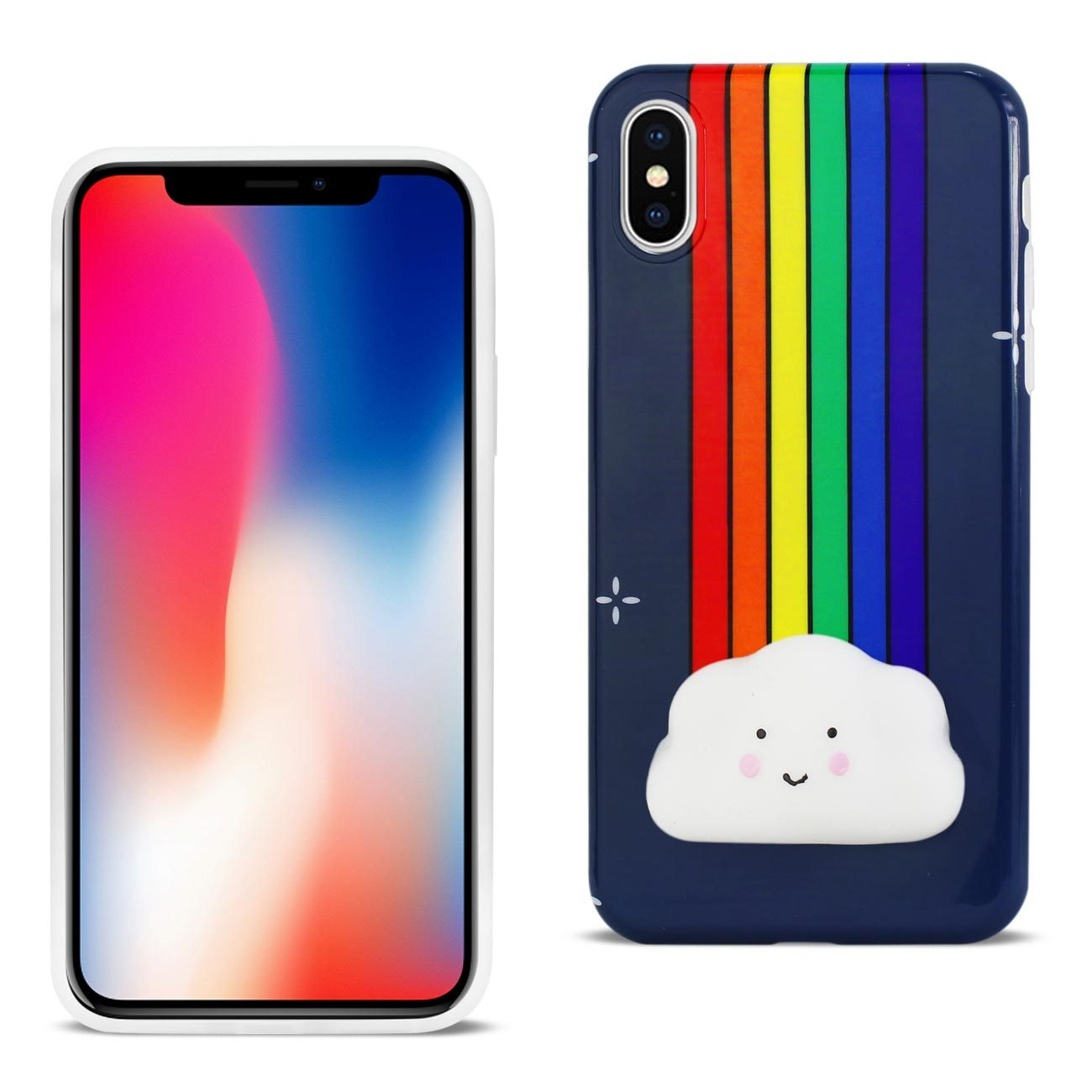 Reiko Iphone X Iphone Xs Tpu Design Case With 3d Soft Silicone