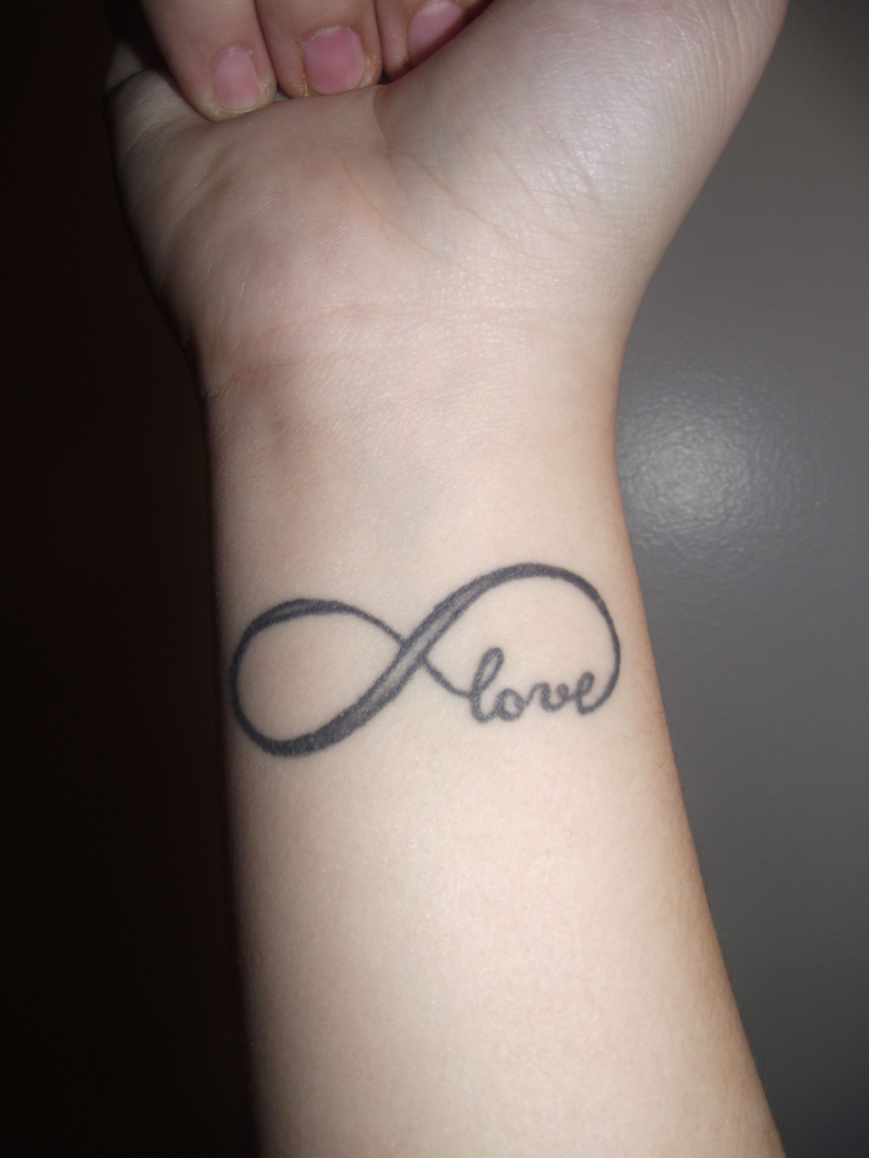 infinity love tattoo this will be mine and my daughters