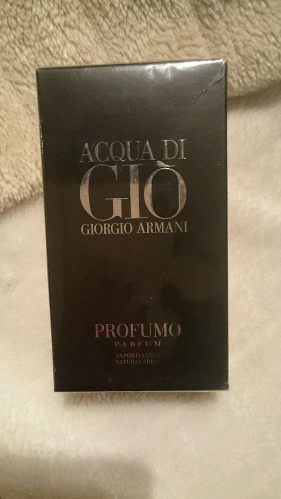 Giorgio armani acqua di gio Profumo Men EDP 75 ml OVP Versiegelt