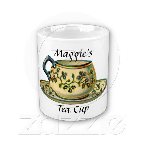 Vintage Tea Cup Mug