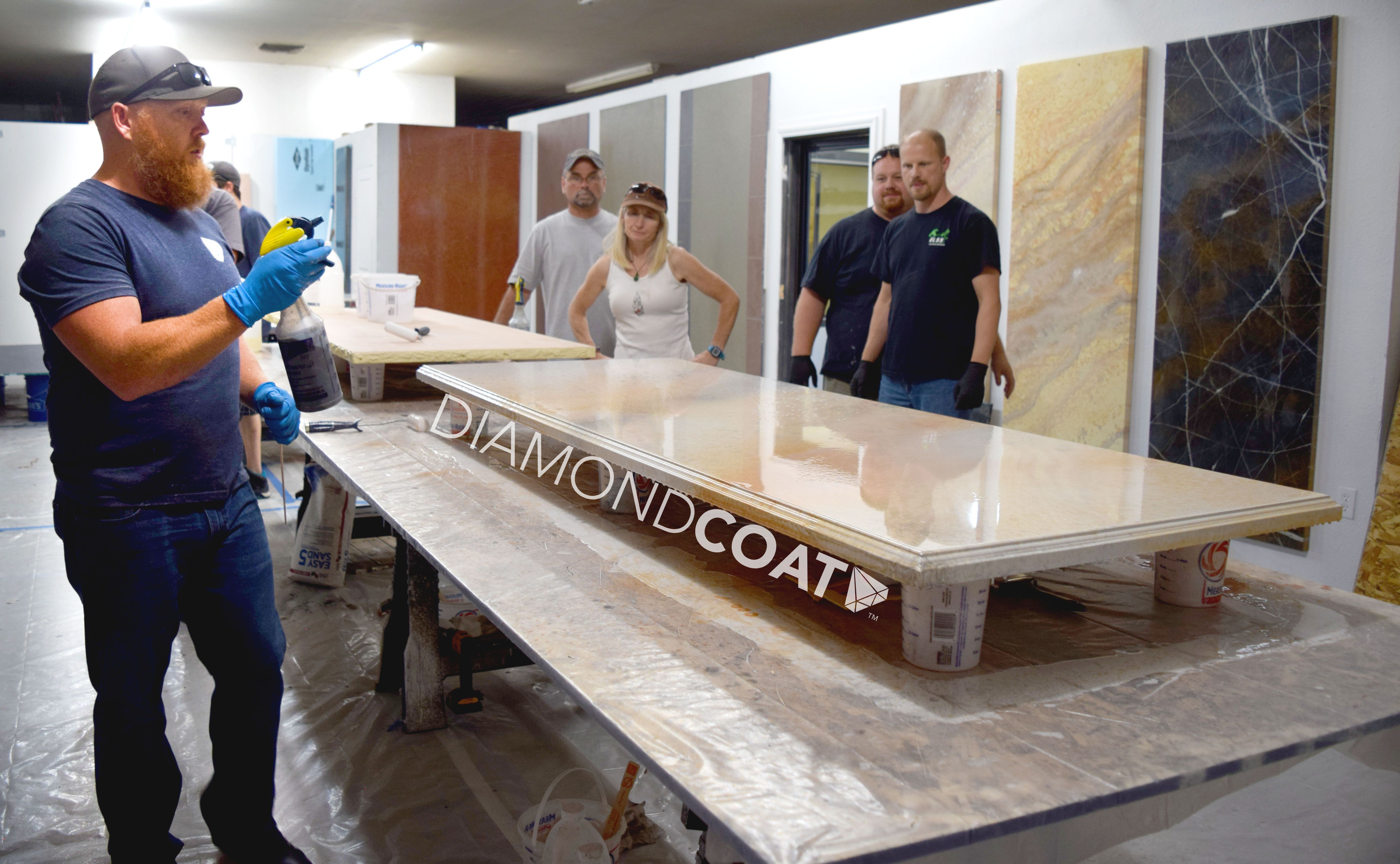 Learn Every Technique And Aspect That Countertop Epoxy Offers At Our Monthly Installer Classes This Is From Ou