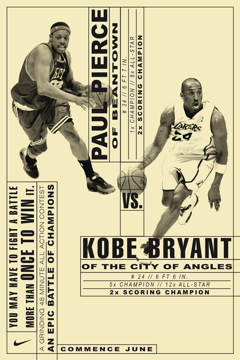 Hort Versus Nike - Sports poster (by Hort).
