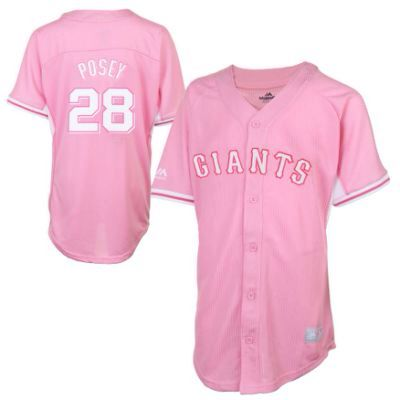 low priced 2fb91 c6ecb Pink SF Giants jersey | SF Giants | Sports, Tops