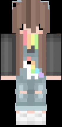 Chibi Rainbow Girl 3 3 Meninas Minecraft