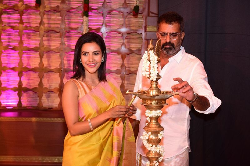 Actress Priya Anand At Abyukta Manikandan Bharathanatya Arangetram on 15th August 2019