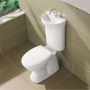 For The Basement Bathroom Toilet Sink Combo Small