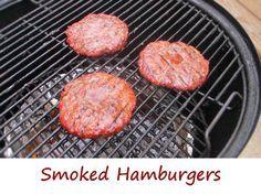 Smoked Hamburgers Life S A Tomato Recipe Smoked Hamburgers Smoked Food Recipes How To Cook Hamburgers