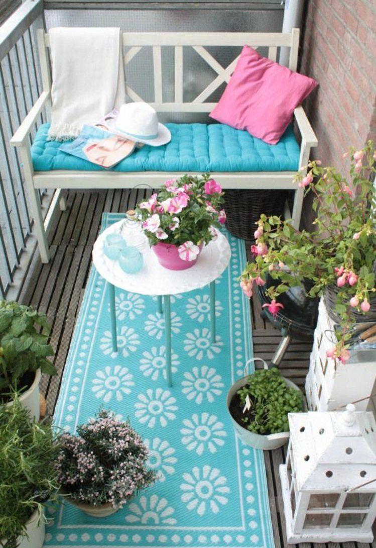 gemütliche balkonideen balkonmöbel für kleinen balkon aussuchen ...
