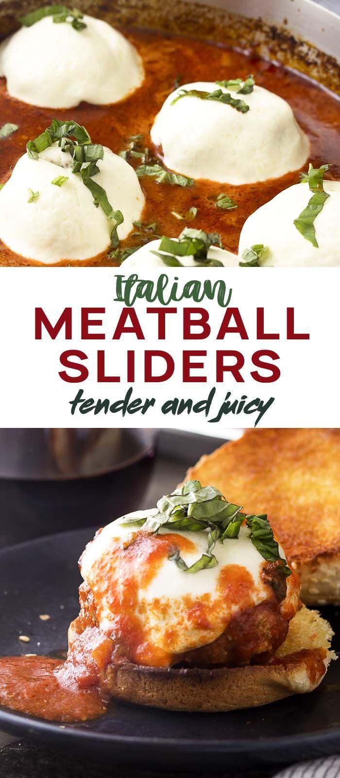 Italian Meatball Sliders images