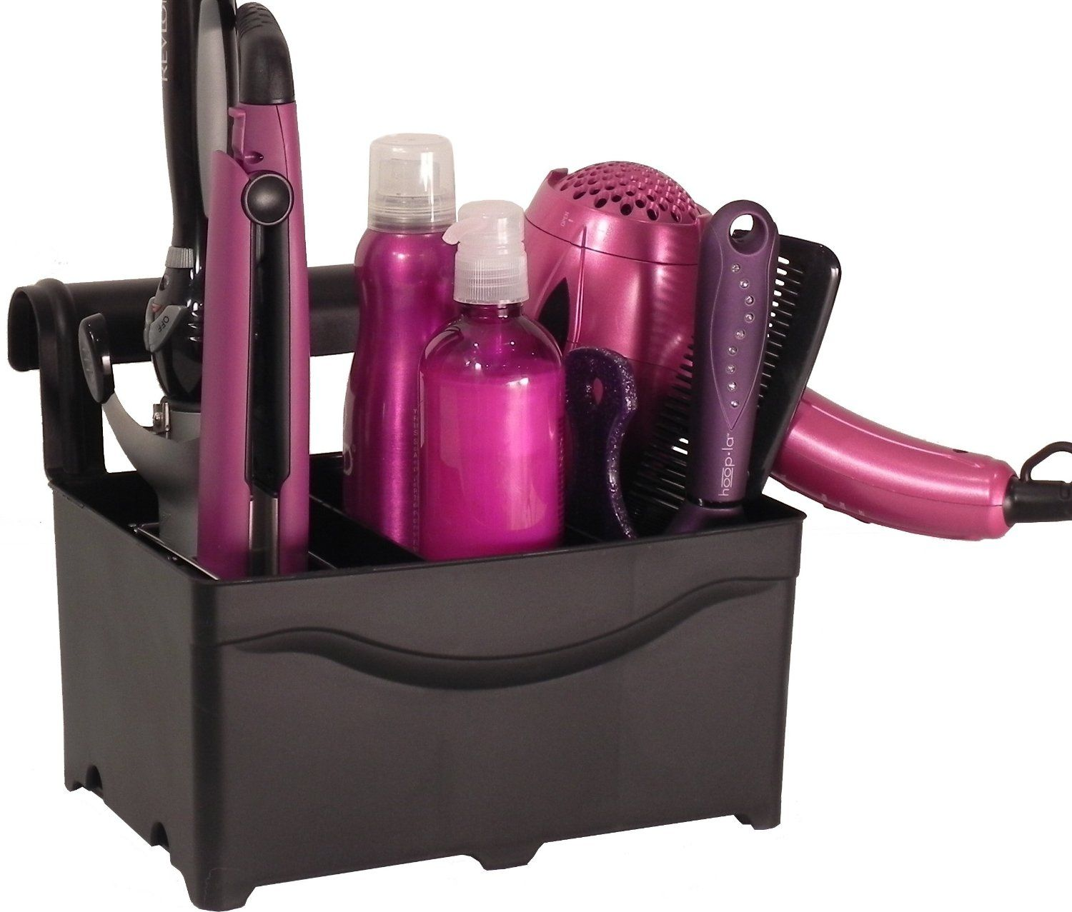 Charming Hair Dryer Curling Iron Organizer Part - 9: STYLEAWAY - BLACK; Curling Iron, Flat Iron, Blow Dryer, Hair Styling  Products