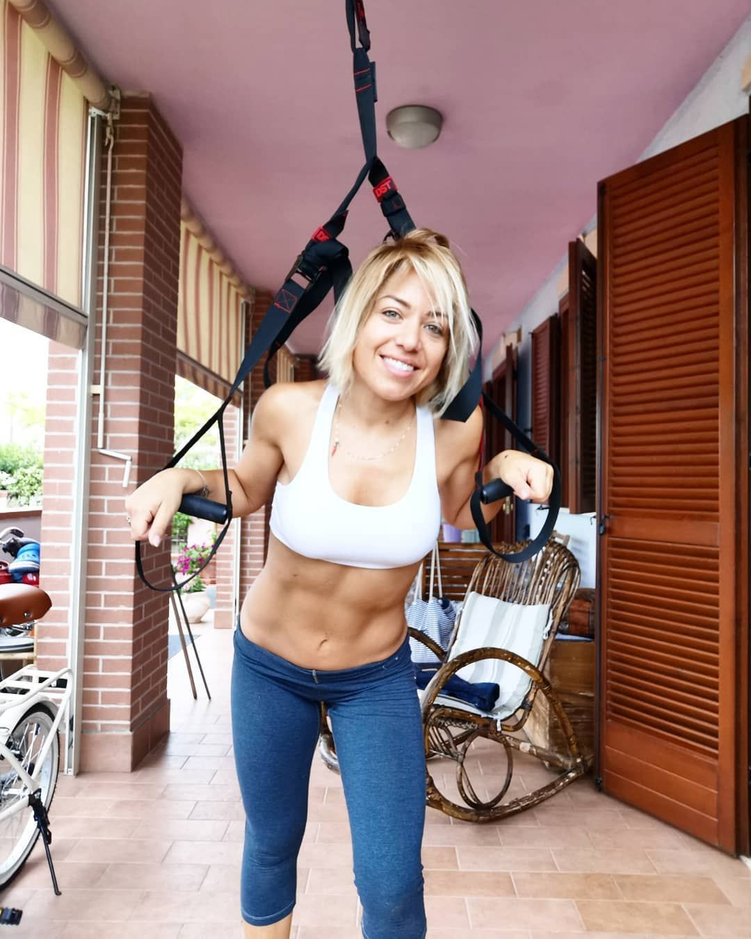 #chisifermaperduto #homeworkout #girlfitness #fitness #youcan #sport #home #body #trx #bf#homework...