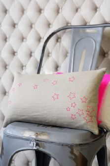 hot pink stars