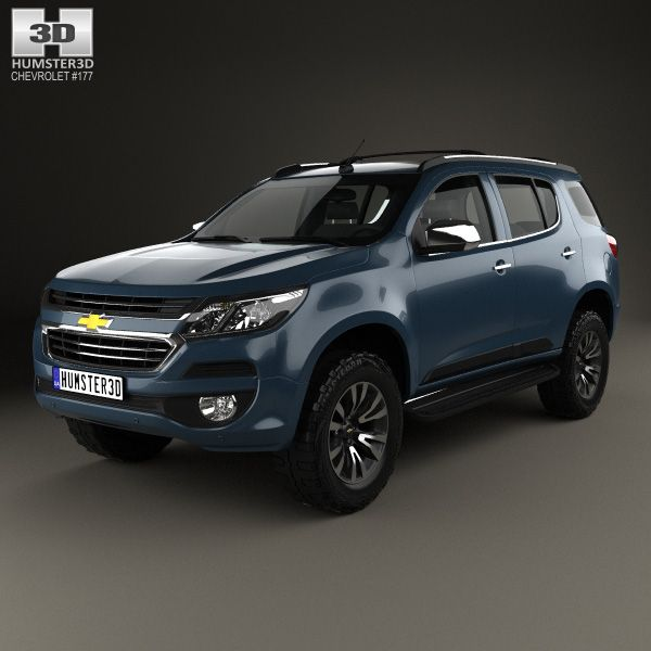 3d Model Of Chevrolet Trailblazer 2016 Chevrolet Trailblazer Chevy Crossover Chevrolet
