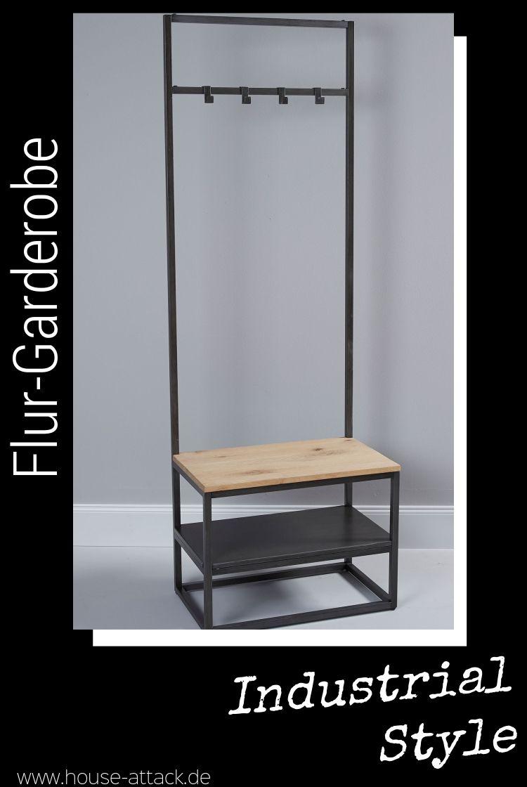 Lc Home Kleiderständer Flurgarderobe Vintage