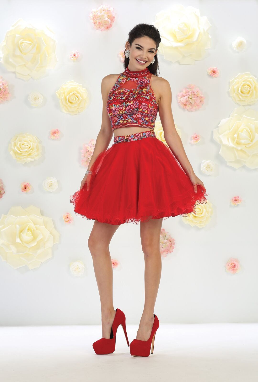 Prom short two piece homecoming dresses pinterest products