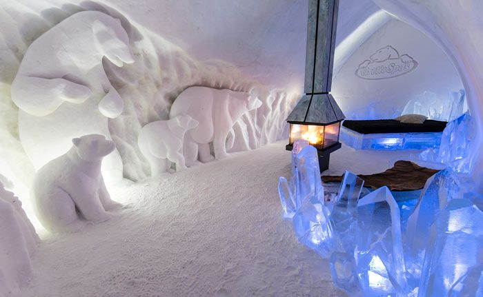 Hotel De Glace An Ice In Quebec City Canada Read More At