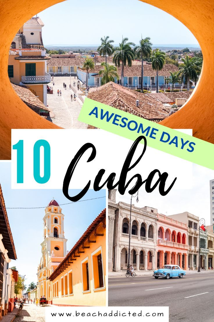10 days Cuba itinerary – Ultimate guide for 10 days in Cuba